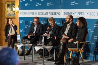 Bild 5   Europäischer Mediengipfel Lech am Arlberg - Medienforum