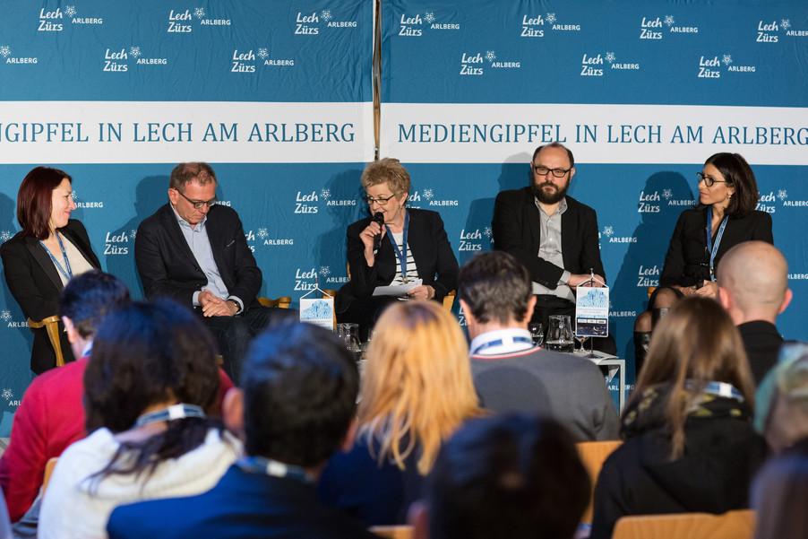 Bild 6   Europäischer Mediengipfel Lech am Arlberg - Medienforum