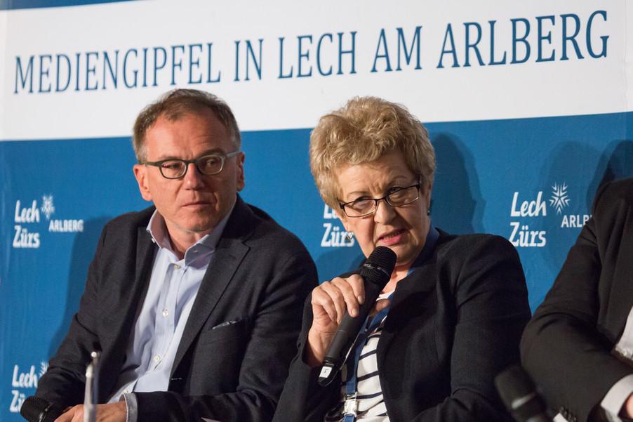 Bild 8   Europäischer Mediengipfel Lech am Arlberg - Medienforum