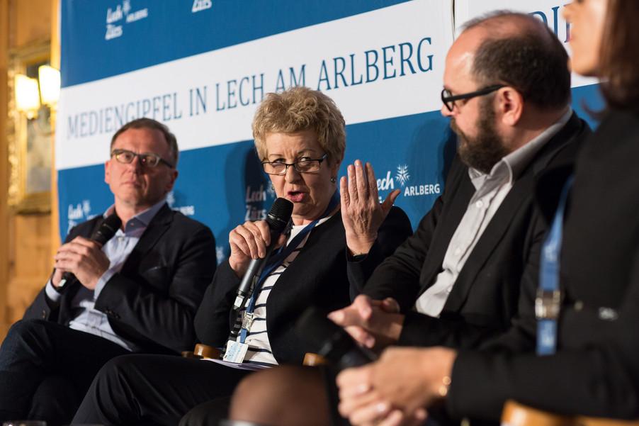 Bild 14   Europäischer Mediengipfel Lech am Arlberg - Medienforum