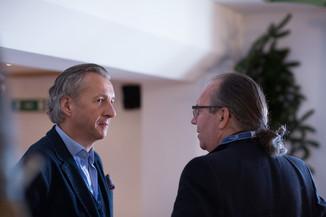 Bild 1   Pressestunde mit Finanzminister Schelling im Rahmen des Euroäischen Mediengipfels Lech am Arlberg