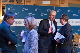 Bild 4   Pressestunde mit Finanzminister Schelling im Rahmen des Euroäischen Mediengipfels Lech am Arlberg