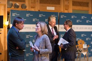 Bild 5   Pressestunde mit Finanzminister Schelling im Rahmen des Euroäischen Mediengipfels Lech am Arlberg