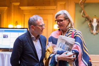 Bild 8   Pressestunde mit Finanzminister Schelling im Rahmen des Euroäischen Mediengipfels Lech am Arlberg