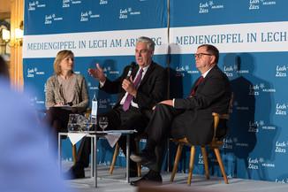 Bild 9   Pressestunde mit Finanzminister Schelling im Rahmen des Euroäischen Mediengipfels Lech am Arlberg