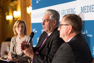 Bild 10   Pressestunde mit Finanzminister Schelling im Rahmen des Euroäischen Mediengipfels Lech am Arlberg