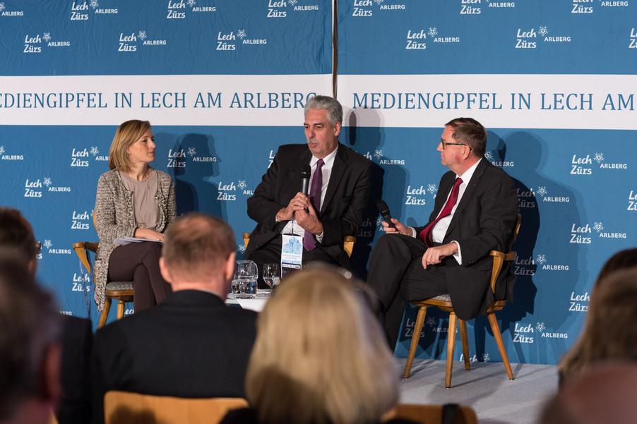 Bild 13   Pressestunde mit Finanzminister Schelling im Rahmen des Euroäischen Mediengipfels Lech am Arlberg