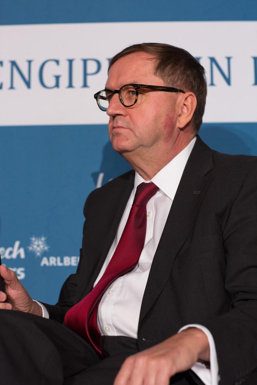 Bild 16   Pressestunde mit Finanzminister Schelling im Rahmen des Euroäischen Mediengipfels Lech am Arlberg