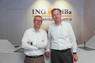Bild 1 | Digitalisierung in der ING-Gruppe: Österreich bei der Nutzung digitaler Kanäle an der Spitze