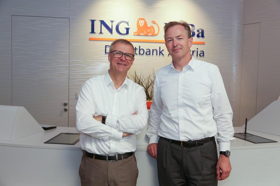 Bild 4 | Digitalisierung in der ING-Gruppe: Österreich bei der Nutzung digitaler Kanäle an der Spitze