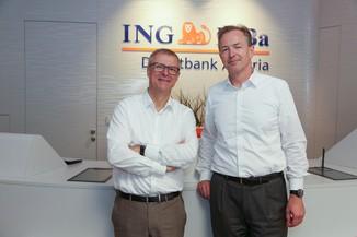 Bild 5 | Digitalisierung in der ING-Gruppe: Österreich bei der Nutzung digitaler Kanäle an der Spitze