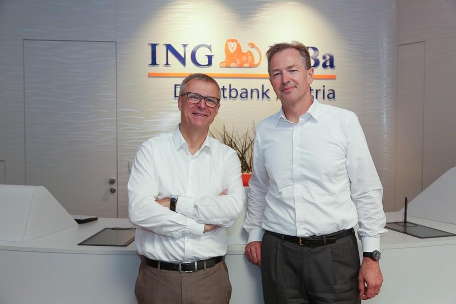 Bild 6 | Digitalisierung in der ING-Gruppe: Österreich bei der Nutzung digitaler Kanäle an der Spitze