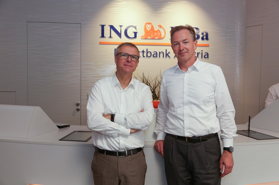 Bild 7 | Digitalisierung in der ING-Gruppe: Österreich bei der Nutzung digitaler Kanäle an der Spitze