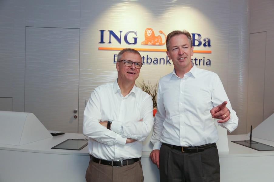 Bild 8 | Digitalisierung in der ING-Gruppe: Österreich bei der Nutzung digitaler Kanäle an der Spitze