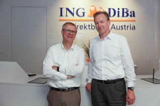 Bild 9 | Digitalisierung in der ING-Gruppe: Österreich bei der Nutzung digitaler Kanäle an der Spitze