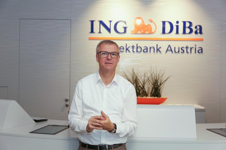Bild 17 | Digitalisierung in der ING-Gruppe: Österreich bei der Nutzung digitaler Kanäle an der Spitze