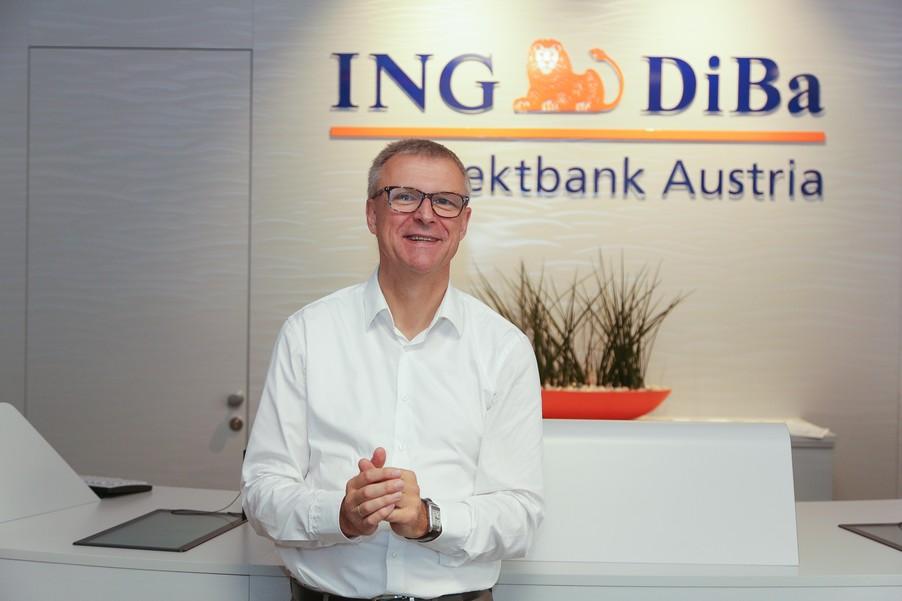 Bild 19 | Digitalisierung in der ING-Gruppe: Österreich bei der Nutzung digitaler Kanäle an der Spitze