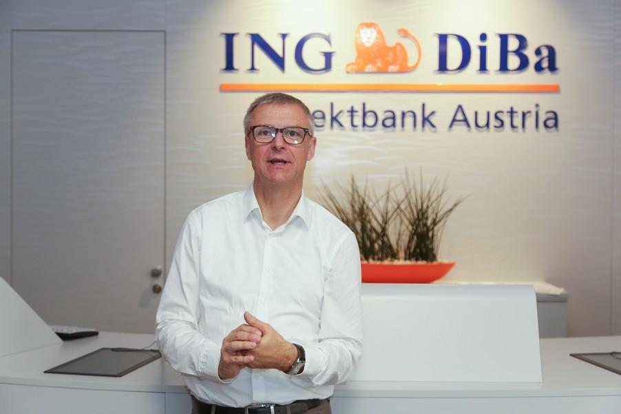 Bild 21 | Digitalisierung in der ING-Gruppe: Österreich bei der Nutzung digitaler Kanäle an der Spitze