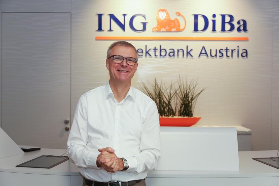 Bild 23 | Digitalisierung in der ING-Gruppe: Österreich bei der Nutzung digitaler Kanäle an der Spitze