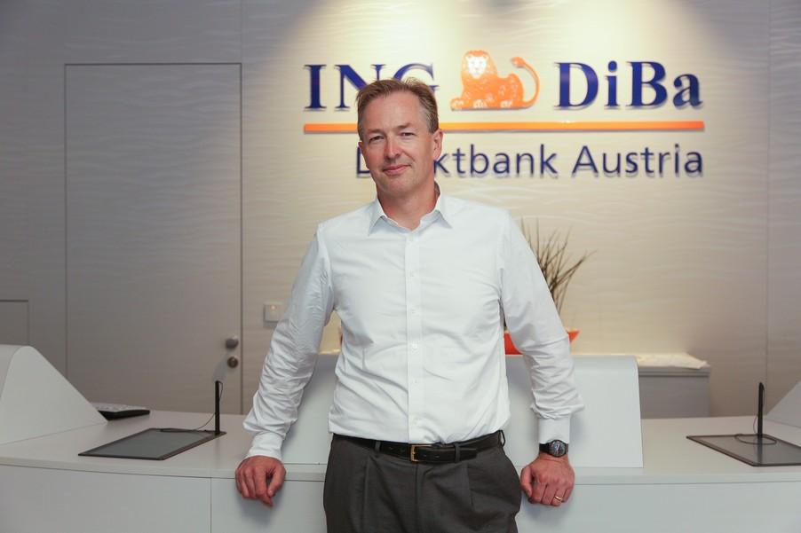 Bild 24 | Digitalisierung in der ING-Gruppe: Österreich bei der Nutzung digitaler Kanäle an der Spitze
