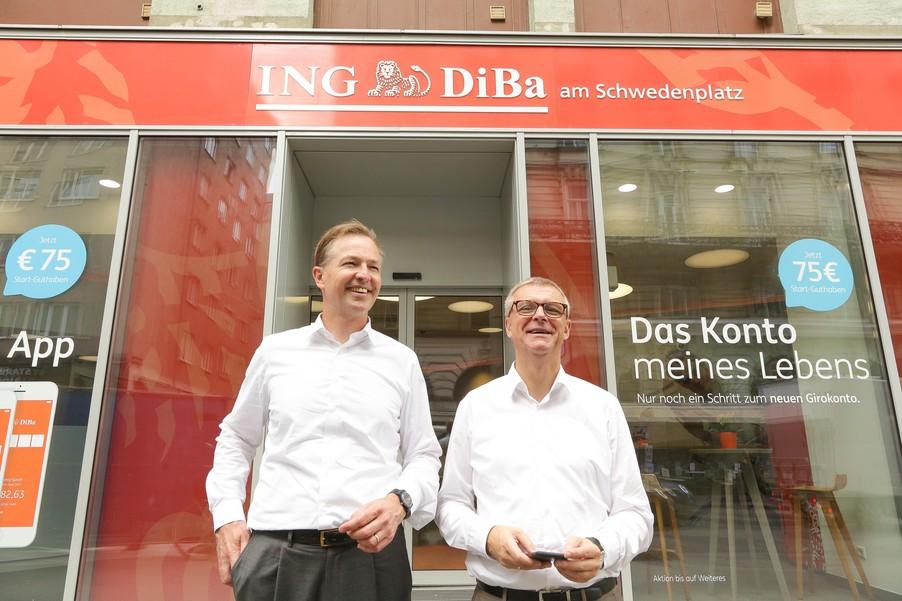 Bild 30 | Digitalisierung in der ING-Gruppe: Österreich bei der Nutzung digitaler Kanäle an der Spitze