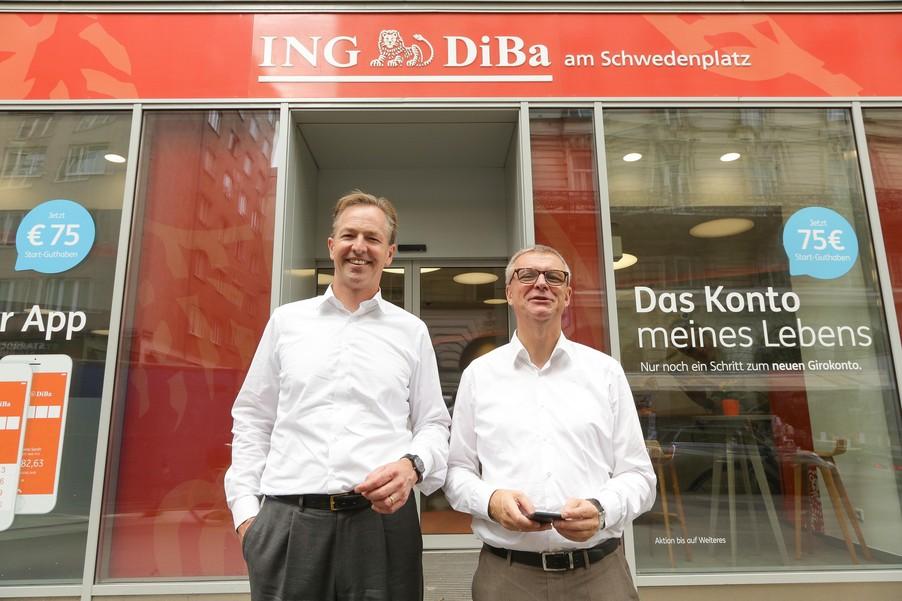 Bild 31 | Digitalisierung in der ING-Gruppe: Österreich bei der Nutzung digitaler Kanäle an der Spitze