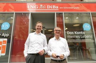Bild 32 | Digitalisierung in der ING-Gruppe: Österreich bei der Nutzung digitaler Kanäle an der Spitze