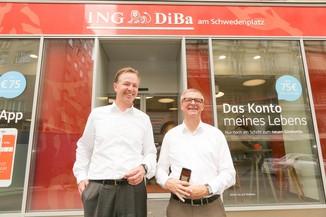 Bild 3 | Digitalisierung in der ING-Gruppe: Österreich bei der Nutzung digitaler Kanäle an der Spitze