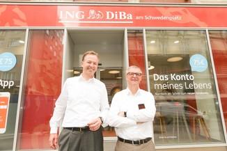 Bild 33 | Digitalisierung in der ING-Gruppe: Österreich bei der Nutzung digitaler Kanäle an der Spitze