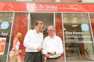 Bild 34 | Digitalisierung in der ING-Gruppe: Österreich bei der Nutzung digitaler Kanäle an der Spitze