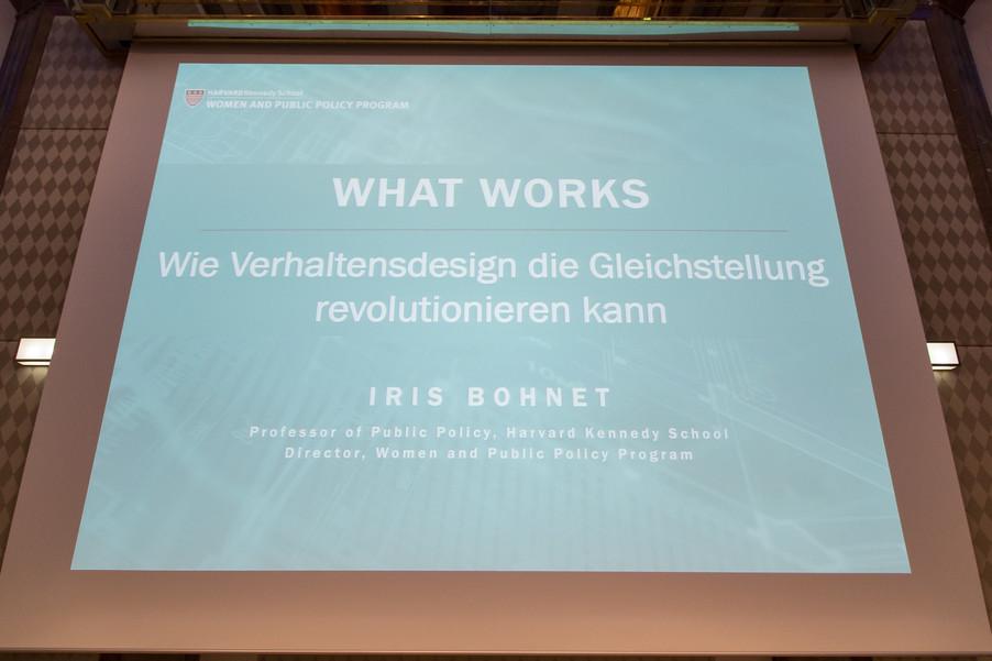 Bild 5 | VBEN | Iris Bohnet: What Works. Wie Verhaltensdesign die Gleichstellung revolutionieren kann.
