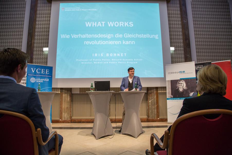 Bild 28 | VBEN | Iris Bohnet: What Works. Wie Verhaltensdesign die Gleichstellung revolutionieren kann.