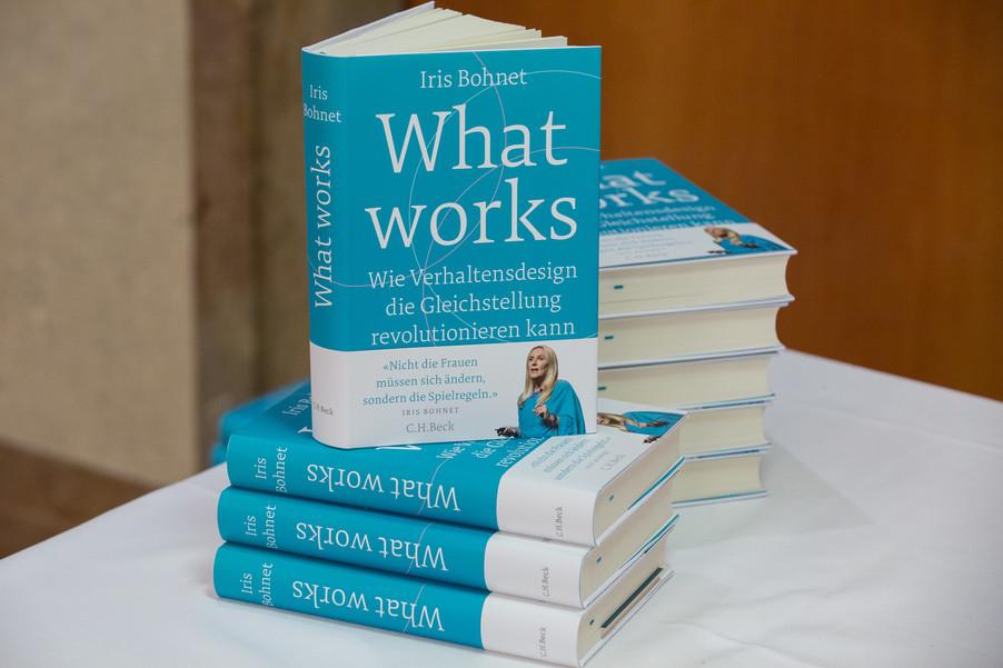 Bild 78 | VBEN | Iris Bohnet: What Works. Wie Verhaltensdesign die Gleichstellung revolutionieren kann.