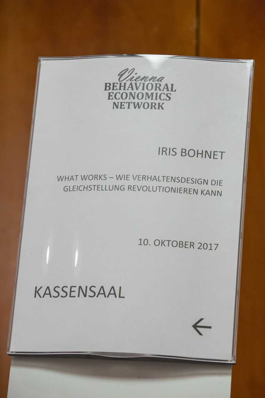 Bild 84 | VBEN | Iris Bohnet: What Works. Wie Verhaltensdesign die Gleichstellung revolutionieren kann.