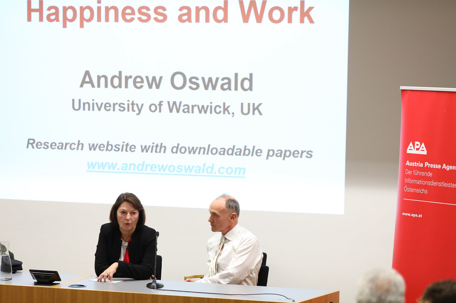 Bild 77 | VBEN | Andrew Oswald: Happiness and Work