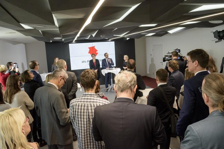 Bild 14 | Eröffnung APA-Pressezentrum