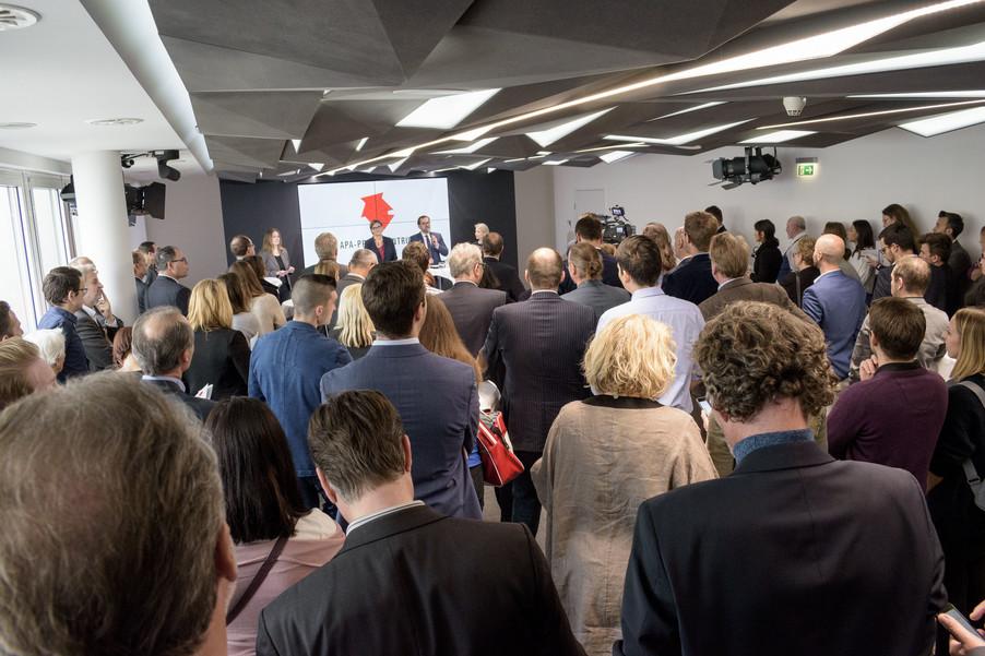 Bild 8 | Eröffnung APA-Pressezentrum