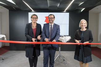 Bild 1 | Eröffnung APA-Pressezentrum