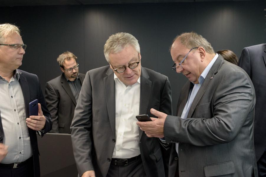 Bild 23 | Eröffnung APA-Pressezentrum