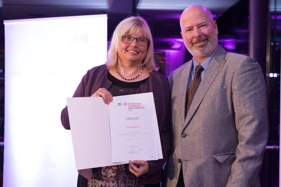 Bild 77 | Verleihung des Staatspreises für Erwachsenenbildung 2017