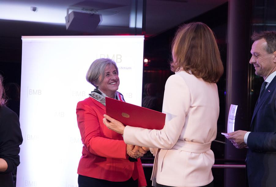 Bild 102 | Verleihung des Staatspreises für Erwachsenenbildung 2017