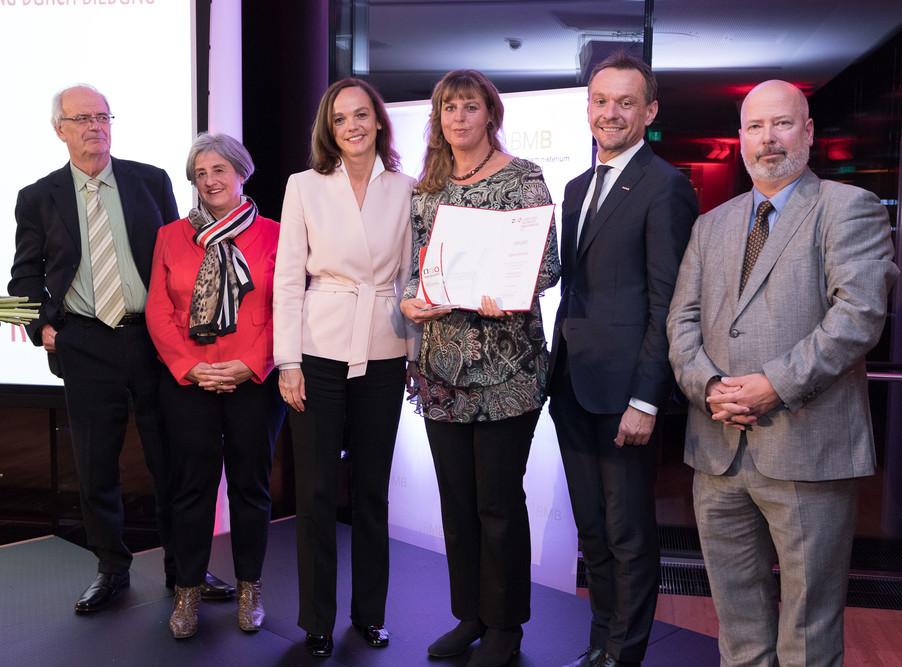 Bild 122 | Verleihung des Staatspreises für Erwachsenenbildung 2017
