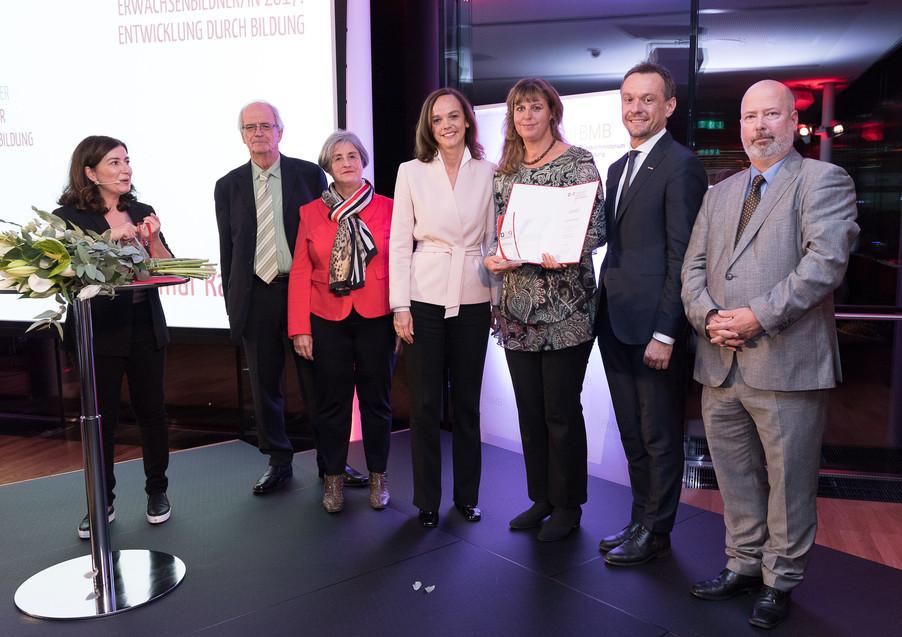 Bild 123 | Verleihung des Staatspreises für Erwachsenenbildung 2017