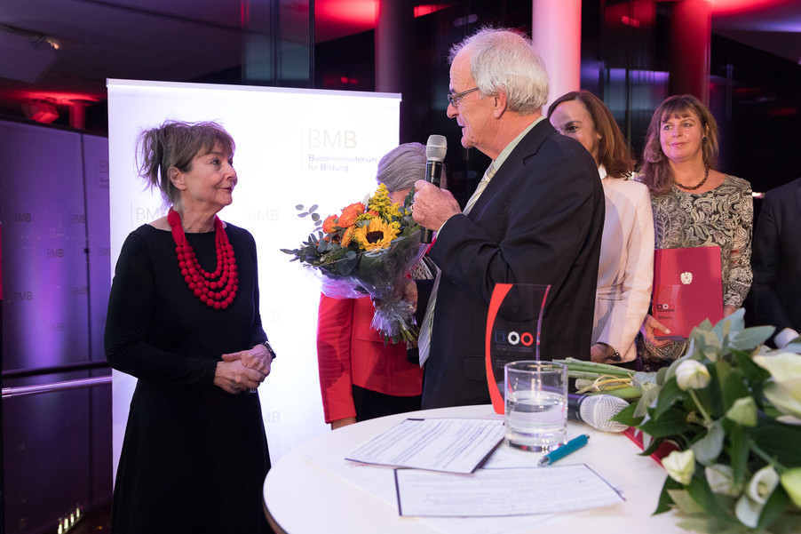 Bild 124 | Verleihung des Staatspreises für Erwachsenenbildung 2017