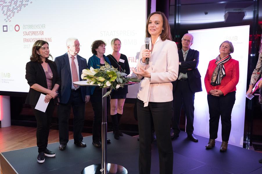 Bild 132 | Verleihung des Staatspreises für Erwachsenenbildung 2017