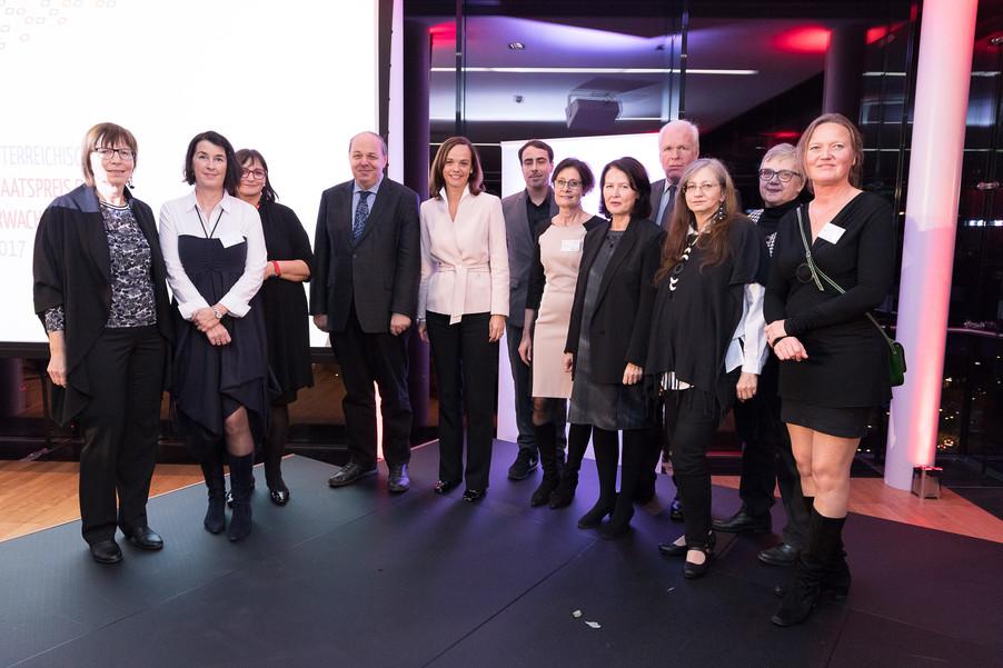 Bild 156 | Verleihung des Staatspreises für Erwachsenenbildung 2017