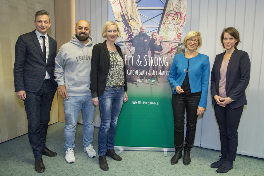 Bild 1   Fit & Strong mit der österreichischen Sozialversicherung