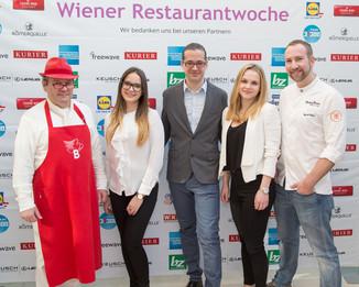 Bild 4 | Fototermin der Wiener Restaurantwoche