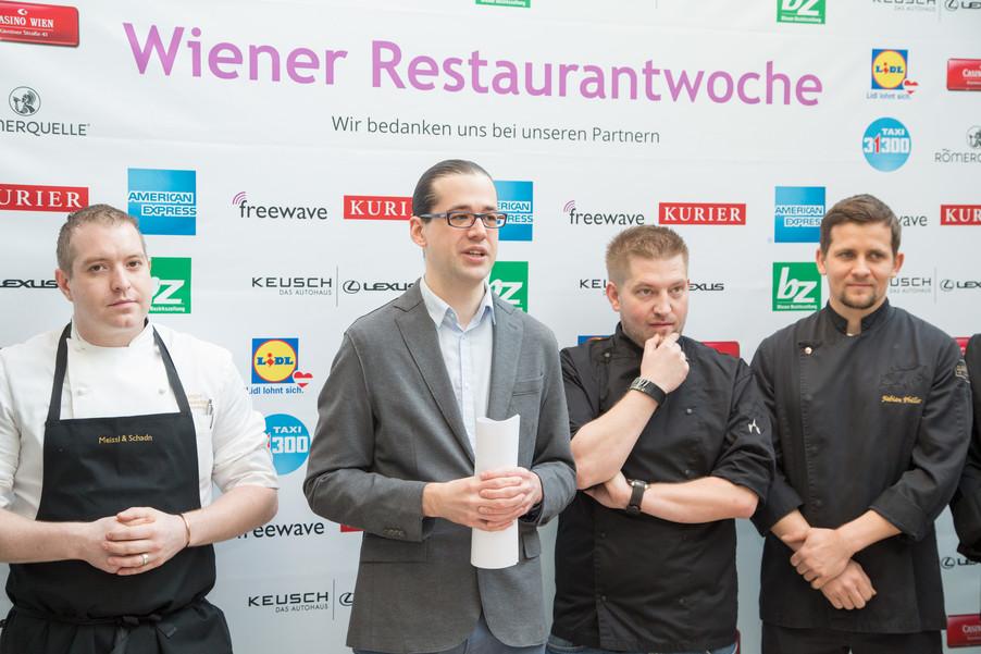 Bild 10 | Fototermin der Wiener Restaurantwoche