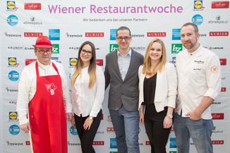 Bild 19 | Fototermin der Wiener Restaurantwoche